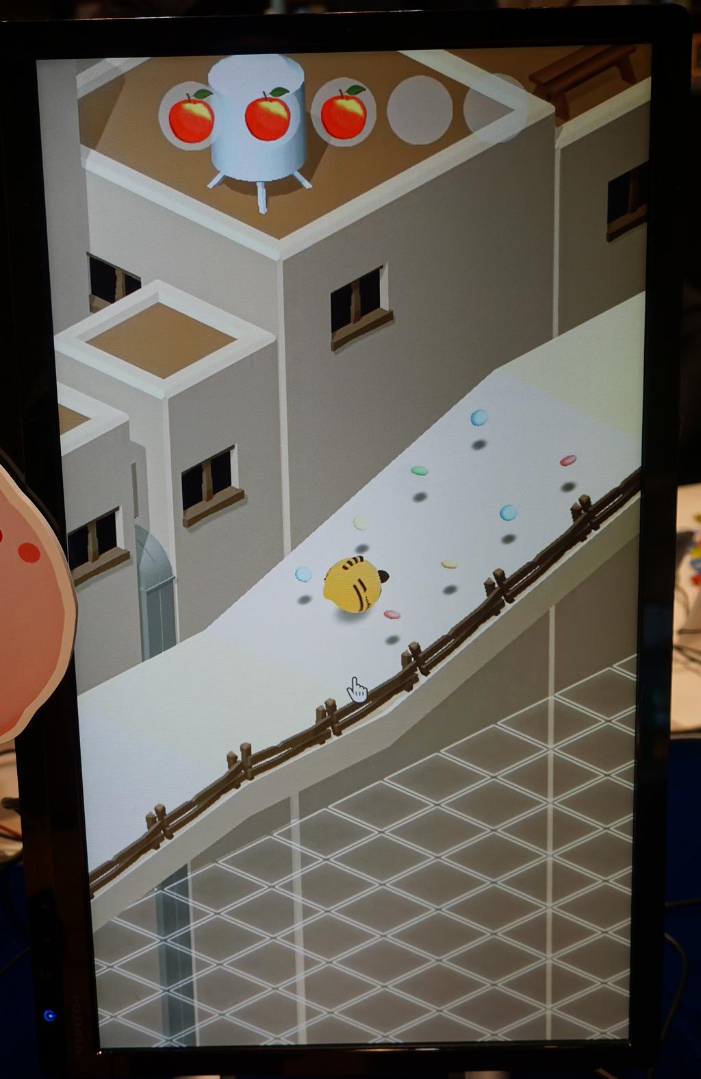 ころころかわいいアクションパズル『はむころりん』【TOKYO SANDBOX 2018】