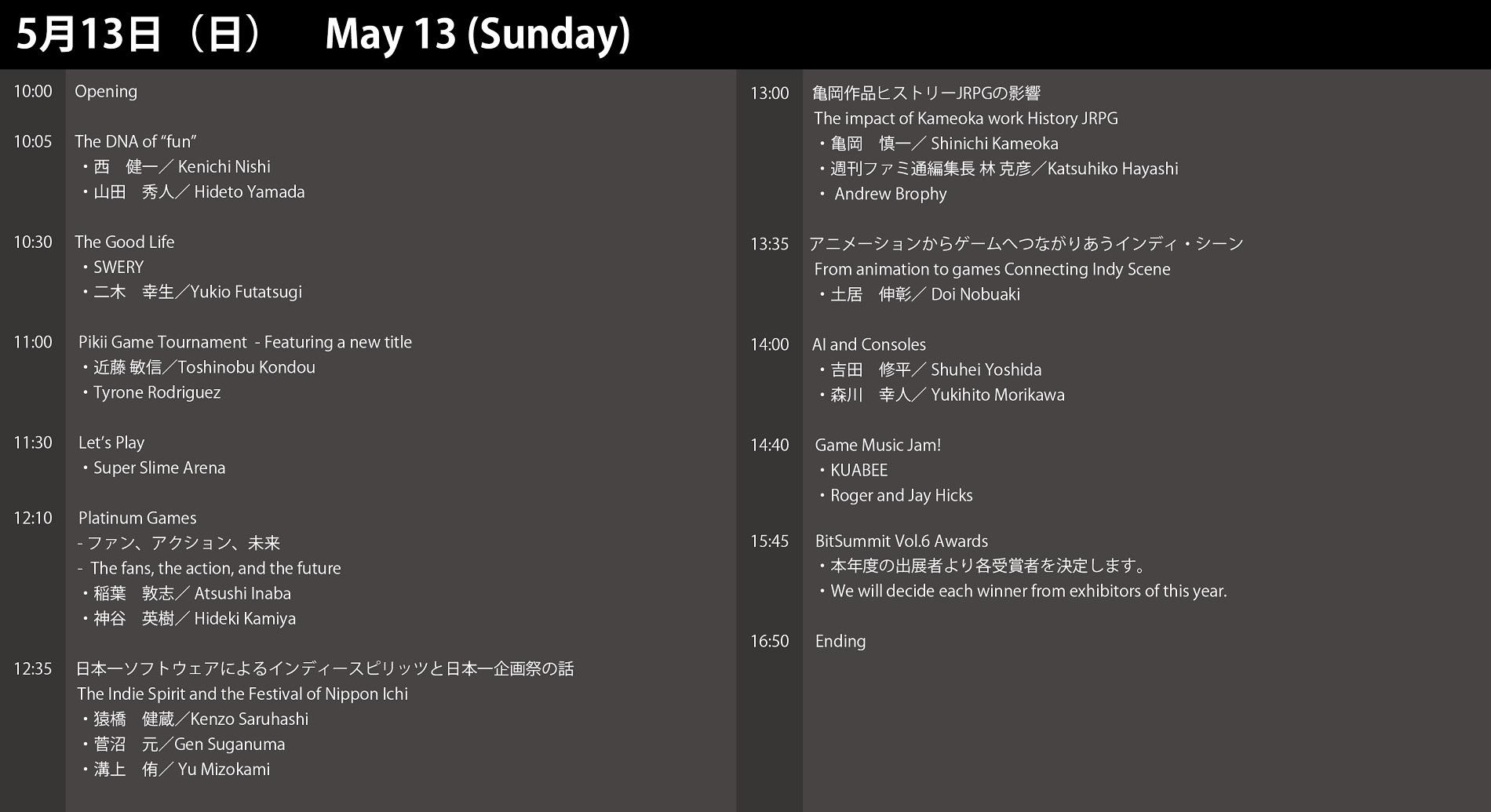 「BitSummit Volume 6」の会場マップとステージプログラムが発表!