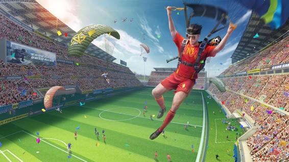 『荒野行動』に新機能「サッカーモード」が追加!『進撃の巨人』コラボは8月1日スタート!!