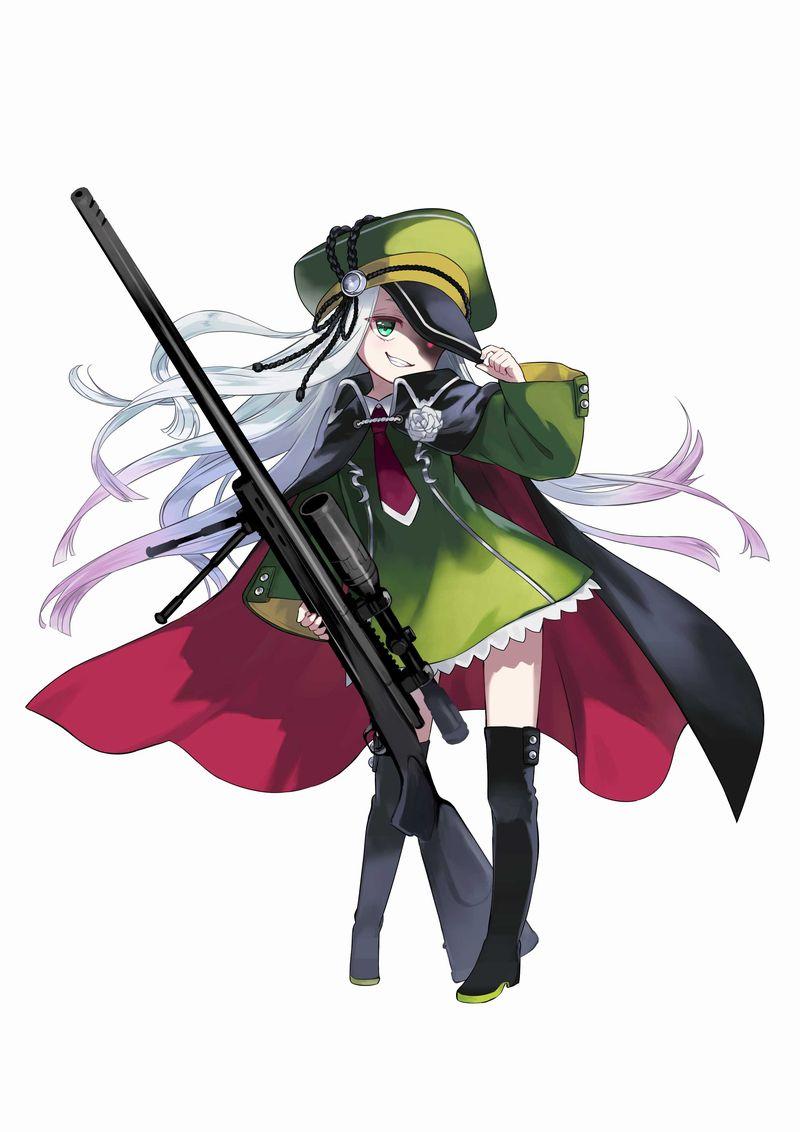 美少女がひたすらゾンビを撃ちまくるタップRPG『ガールズサバイバー』本日配信開始!