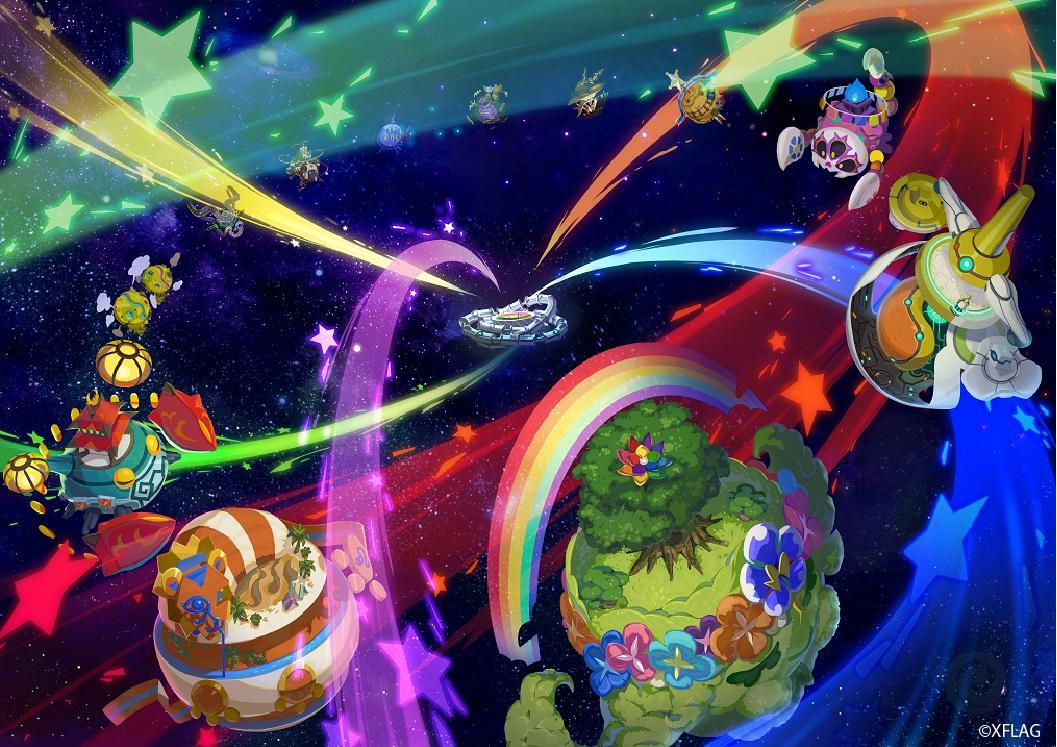 スマホと3DSでマルチプレイ!XFLAGの新作『モバイルボール』は2018年冬配信!