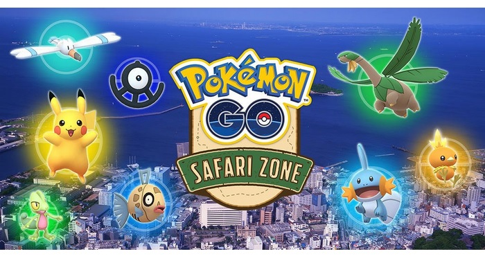 Pokémon GO Safari Zone in YOKOSUKA