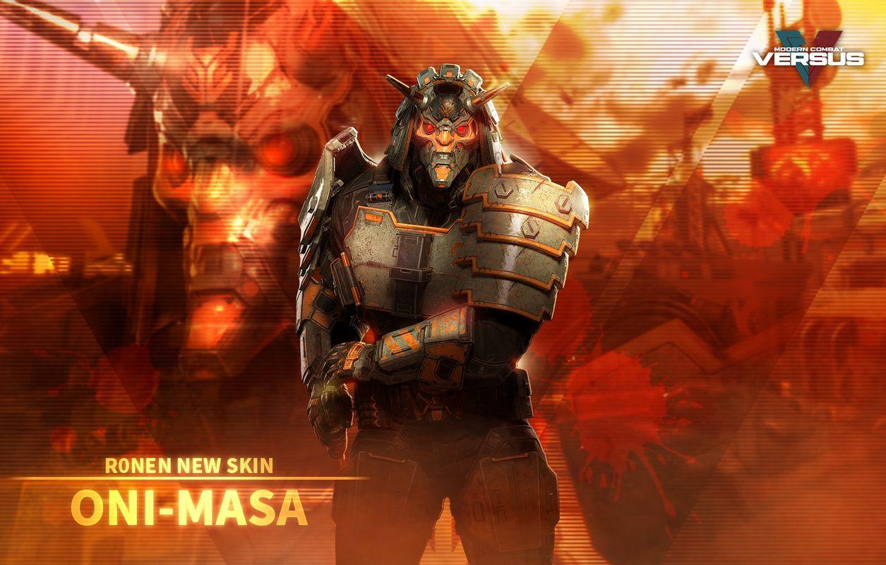 『モダコンVS』で7月7日からローネンの新スキン「ONI MASA」が登場!