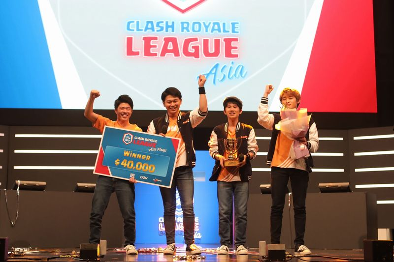 日本チーム「PONOS Sports」が「クラロワリーグ アジア」1stシーズン王者に決定!!