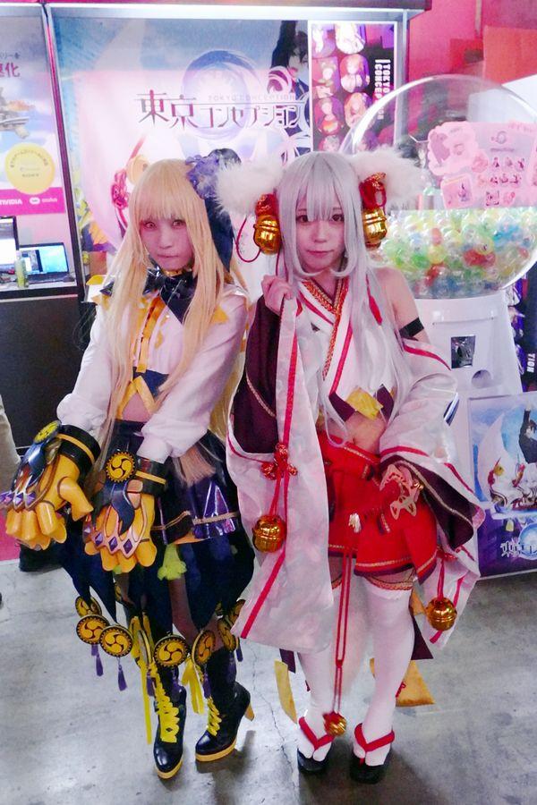 『東京コンセプション』ブースでは公認キャラクターモデルがお出迎え!試遊も可能【TGS2018】
