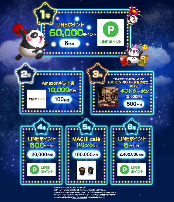 「LINE GAME」が6周年!Amazonギフト券1万円分などが当たる豪華キャンペーンを開催!