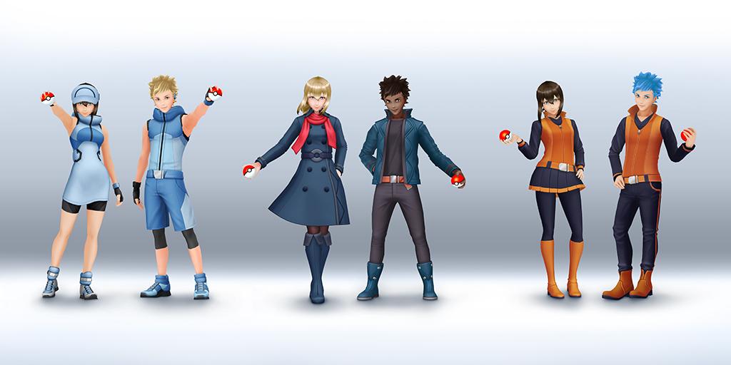 『ポケモンGO』にエリートトレーナーをモチーフにした新着せ替えアイテムが登場!