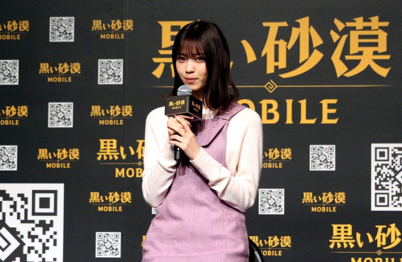本日配信『黒い砂漠モバイル』ローンチ発表会に西野七瀬さんが登場!プロデューサーとの白熱バトルも!!