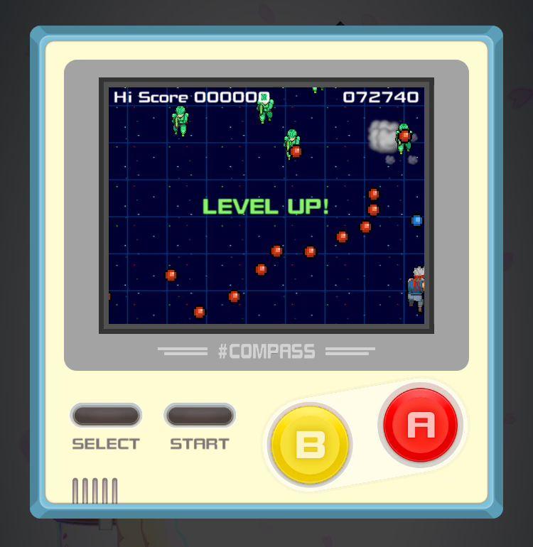 #コンパス【ニュース】: エイプリルフールの余興!? 『戦場のGB』がミニゲームに電撃追加!