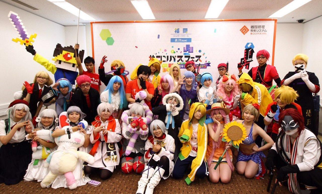 #コンパス【ニュース】: 街キャラバン in福岡も大盛況!次回はラストの大阪で「猫宮ひなた」が生出演