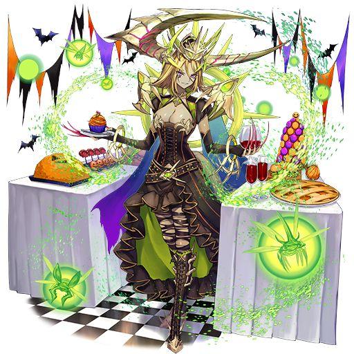 『逆転オセロニア』にて「ハロウィンフェスタ'19」を開催中!魔女コスチュームの「おこん」が登場
