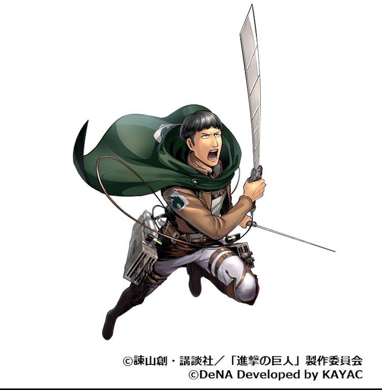 『進撃の巨人TACTICS』でIFストーリーイベント「二人の団⻑」が1月8日よりスタート!