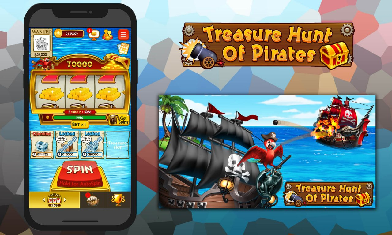 『Treasure Hunt Of Pirates』がFacebookインスタントゲームにて配信開始!