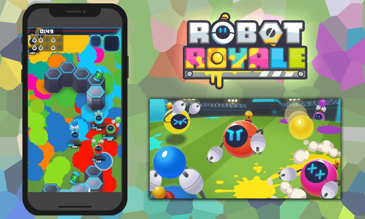 新作『Robot Royale.io(ロボットロイヤル)』がFacebookインスタントゲームにて配信開始!