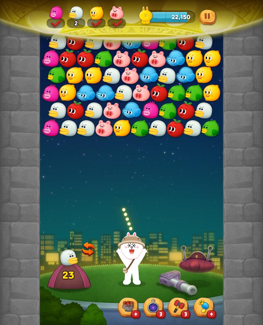 Line バブル2 で ケロロ軍曹 とのコラボが開催中 Appliv Games