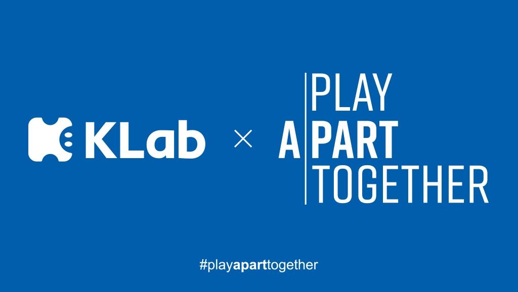 KLabが世界のゲームパブリッシャーが提唱する「#PlayApartTogether」キャンペーンに賛同!