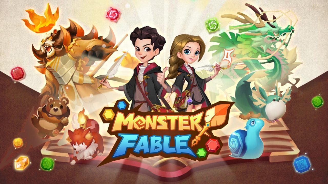 IGG新作パズルゲーム『Monster Fable(モンスターフェイブル)』が正式リリース!