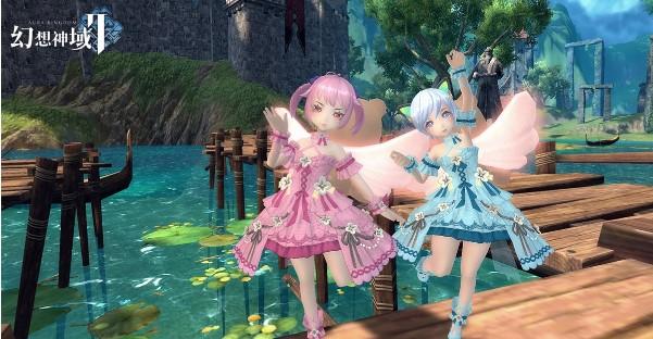 『幻想神域2』が7月1日(水)リリース決定!ギルドシステムの情報も公開!