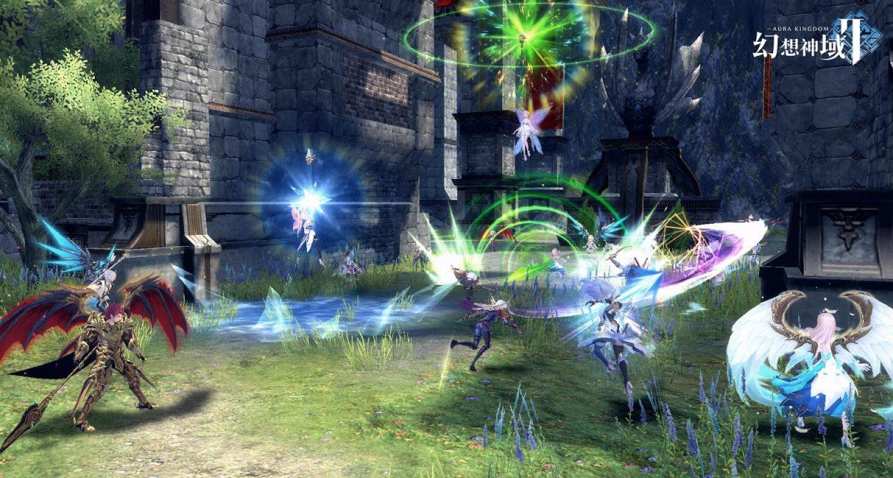 スマホ向けMMORPG『幻想神域2』に新コンテンツ「ギルド戦」が登場!