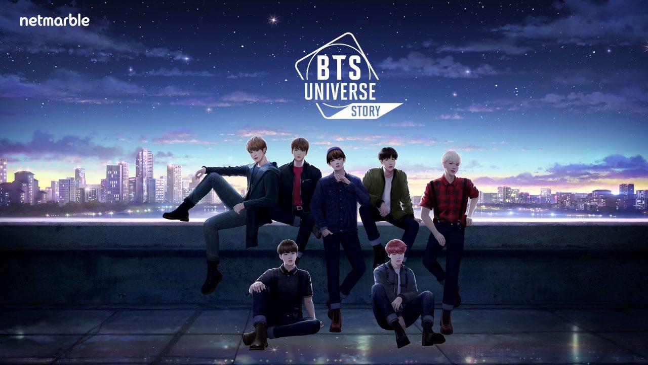ネットマーブル新作『BTS Universe Story』の事前登録が開始!