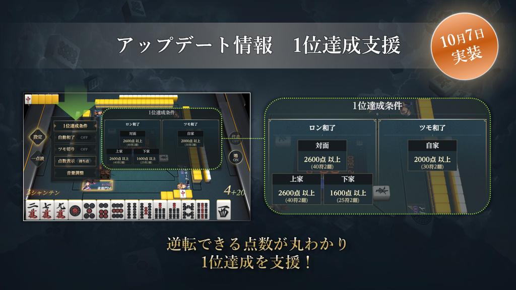 『雀龍門M』の公式番組「テンパれ!雀龍荘!」の第2回が10月9日(金)実施決定!
