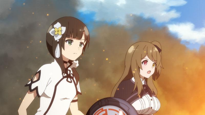 TVアニメ『アサルトリリィ BOUQUET』の第3話限定カットが公開!