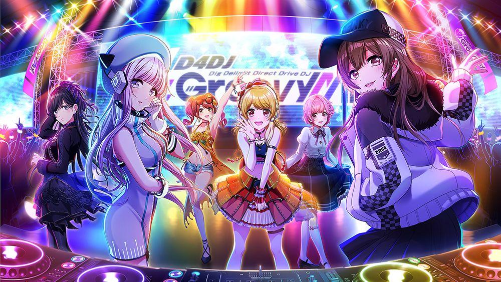 『D4DJ Groovy Mix』オープンβ版がApp Store・Google Playで無料DL1位を獲得!