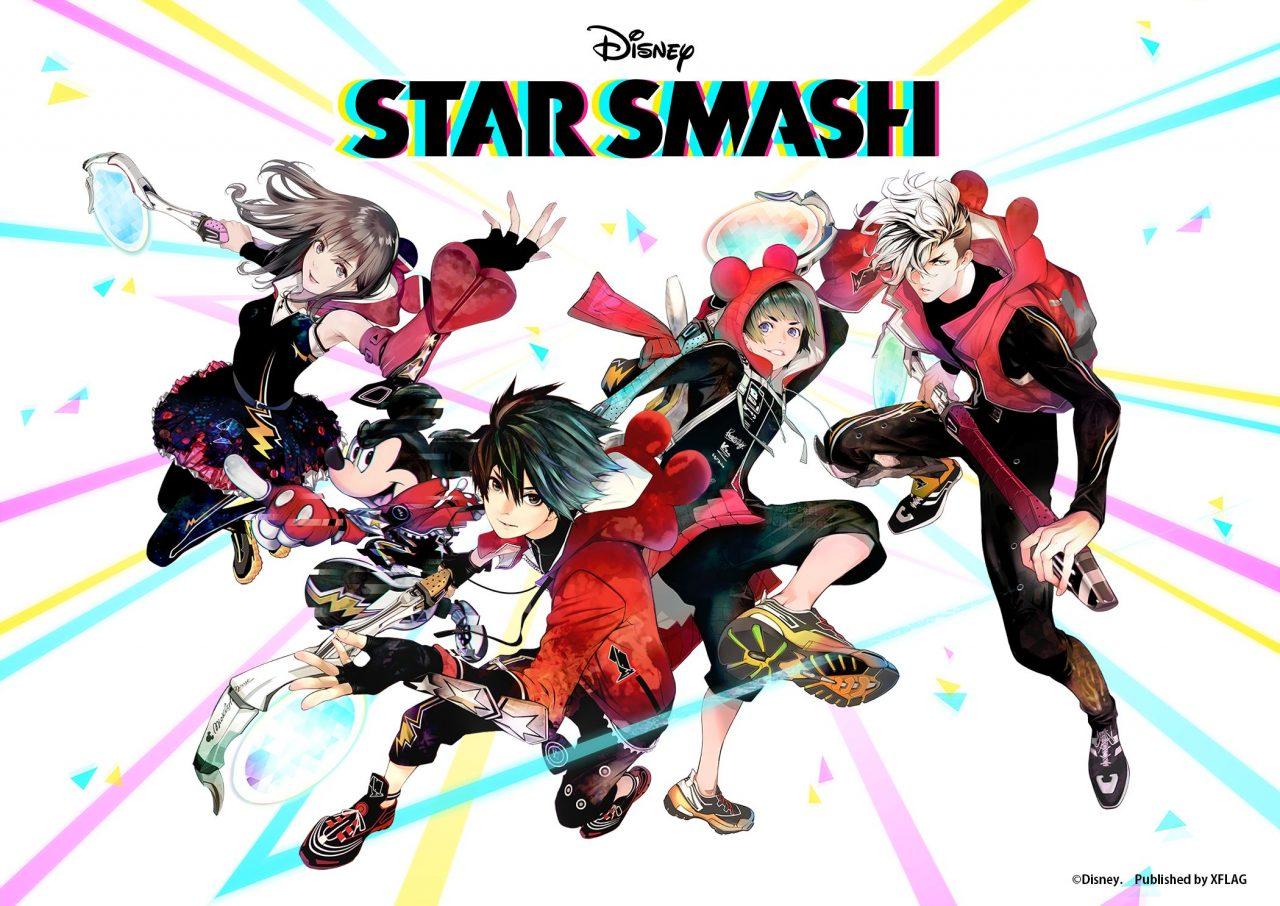 "<span class=""title"">XFLAGとディズニーによる新作『STAR SMASH』が11月16日(月)配信決定!</span>"
