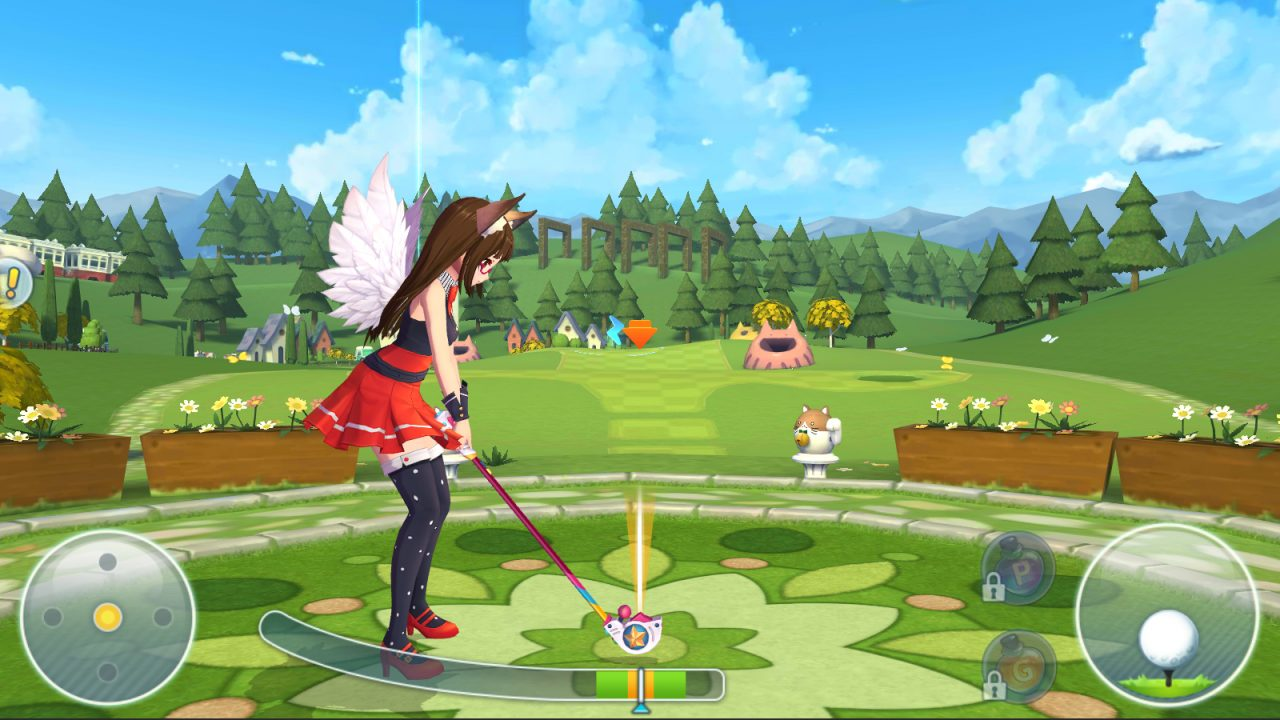 新作ファンタジーゴルフゲーム『バーディークラッシュ』が事前登録開始!