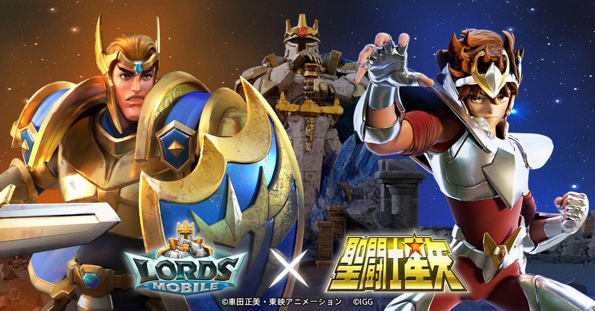 ロードモバイル【ニュース】: 『聖闘士星矢』とのコラボ開催が決定!