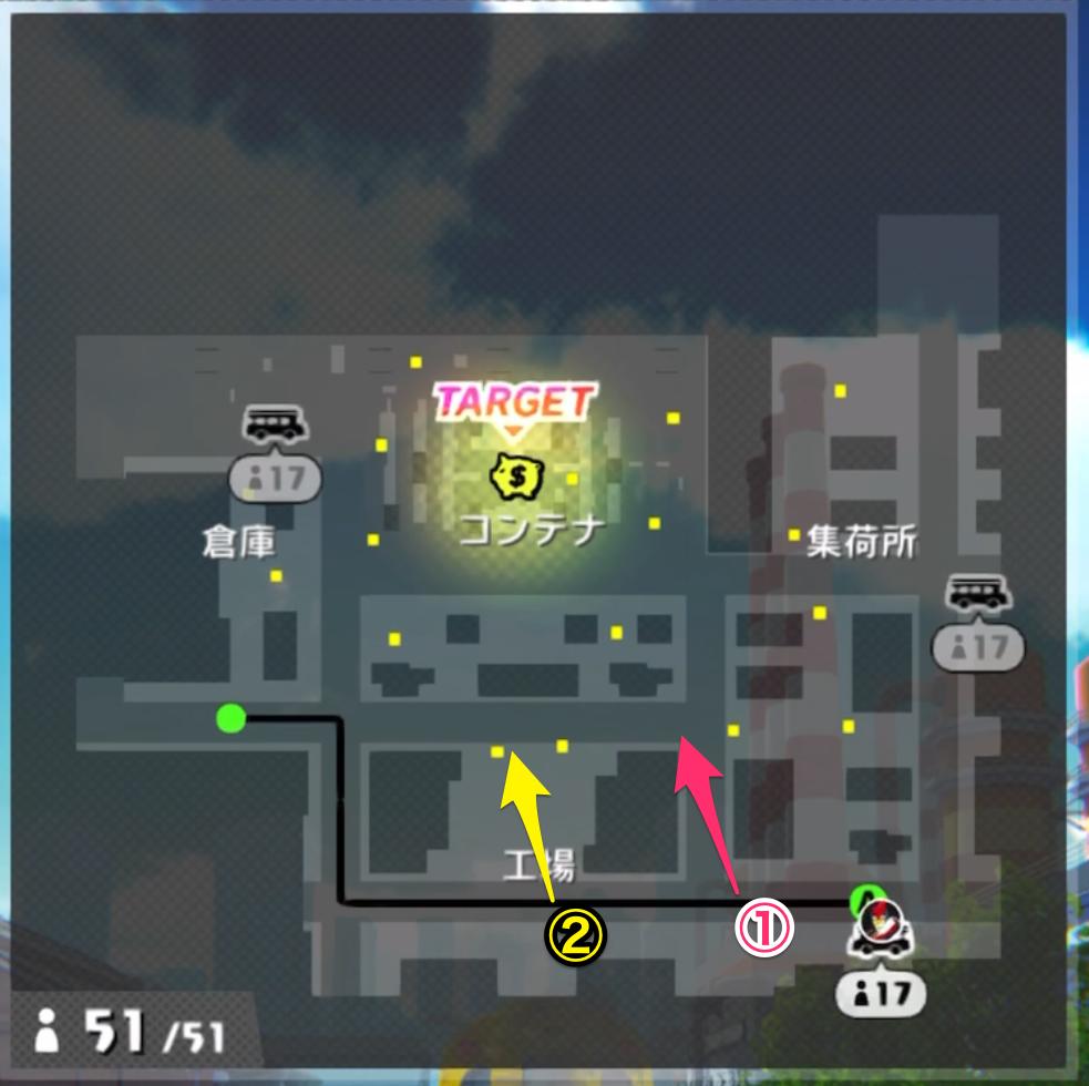 A.I.M.$(エイムズ)【攻略】:「ムーンシャインハーバー」の初動をバスルートごとに解説